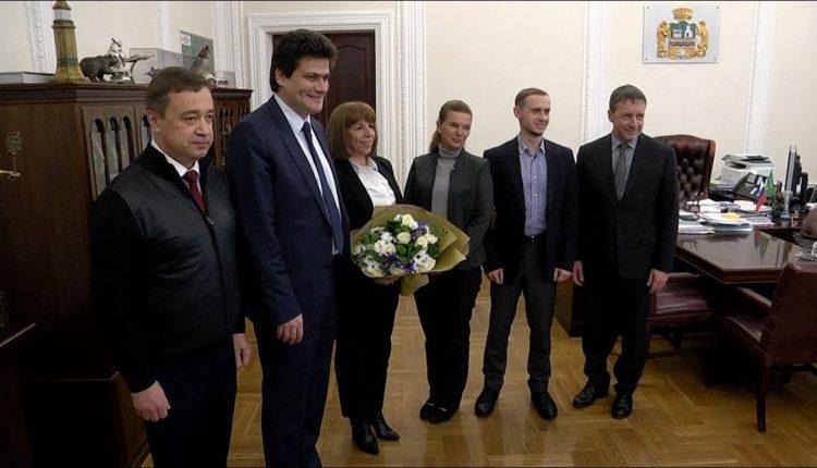Глава Екатеринбурга встретился с генеральным консулом Республики Кипр