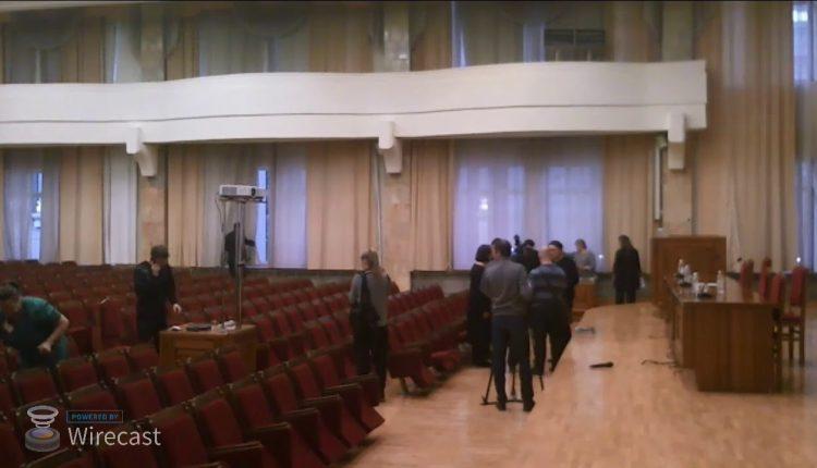 Публичные слушания по проекту бюджета Екатеринбурга. Видеозапись