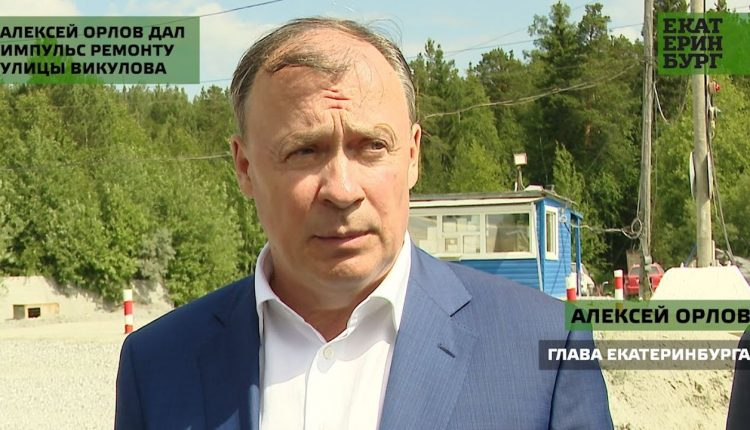 Алексей Орлов дал импульс ремонту улицы Викулова